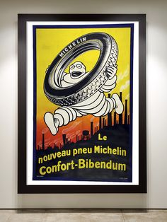 Michelin Confort-Bibendum Original Vintage Bike Poster - Veloist