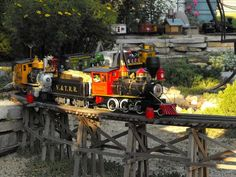 TRIVIA: Just so you know, the G-scale model was pioneered by  a German company called Ernst Paul Lehmann Patentwerk or Lehmann Gross Bahn (L...