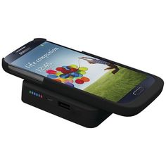 Trident Bd-Qipb6K-Bkgs4 Samsung(R) Galaxy S(R) 4 Electra(R) Series Qi(R) Power Base 6000 Bundle
