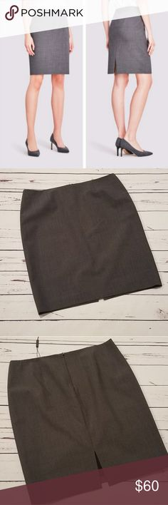 NWT Elie Tahari Gray Bennet Skirt Size 14 Brand new with tags! Never worn! Size 14 from Elie Tahari. Gray Bennet skirt. First image is stock photo found online. Retails for $188!! Elie Tahari Skirts