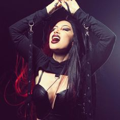 Gothic Men, Gothic Rock, Her Music, Music Is Life, Alternative Metal, Alternative Music, New Years Day Band, Ashley Costello, Ladies Of Metal