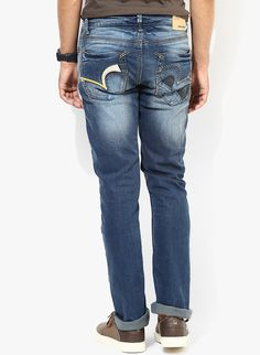 cb42daaafcf612 Buy Spykar Blue Mid Rise Skinny Fit Jeans for Men Online India, Best Prices,