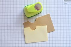gift card envelope splitting a normal envelope