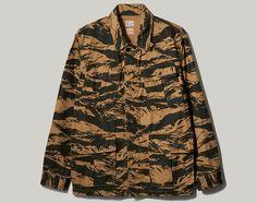 NEXUSVII   Tiger Camo Parachute Jacket