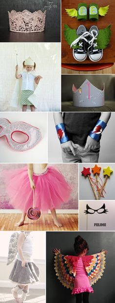 DIY dress ups...my hands are itching to make these!!