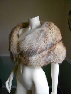 Fox Fur Stole / Vintage  Fox Stole. $169.00, via Etsy.