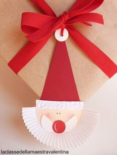 Gift Wrapping Inspiration : For christmas Christmas Art For Kids, Christmas Sewing, Christmas Gift Wrapping, Christmas Activities, Christmas Crafts, Christmas Decorations, Christmas Ornaments, Gift Wrapping Techniques, Creative Gift Wrapping