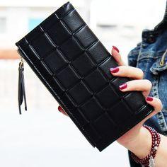930ea16dfcc Stylová velká černá dámská peněženka na 2 zipy – SLEVA 60% A POŠTOVNÉ ZDARMA  Na