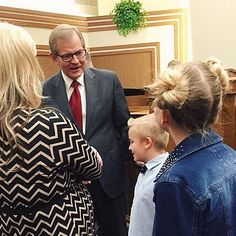 Just got to meet an apostle of the Lord Elder Stevenson. He of course loved Jett. Said he can't wait to tell everyone back home that he met Jett Feider. Lol. #awesome #Salinastakeconference #salinaKS #apostleofGod #garyestevenson #12apostles #lds #teamfeider by hotpink_lens http://ift.tt/1ijk11S