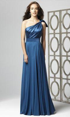 bridesmaid dresses blue