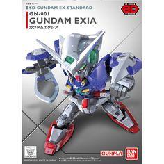 Bandai SD Gundam Ex-Standard GN-001 Gundam Exia Model Kit Figure