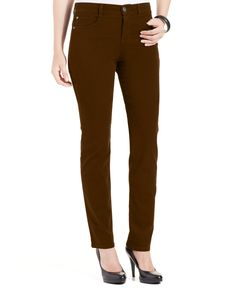 Style & Co. Petite Slim-Leg Tummy-Control Jeans