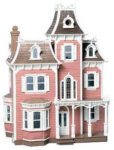Bring a touch of downtown Boston to your hometown with the Beacon Hill Dollhouse Kit. Take one look and you'll know why the Beacon Hill has topped our sales charts for years. The house's Mansard roof,