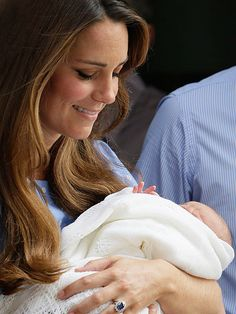 """The Duchess and the Prince   """"It's very emotional,"""" Kate said. """"It's a moment that any parent having just given birth will know what this feeling feels like."""""""
