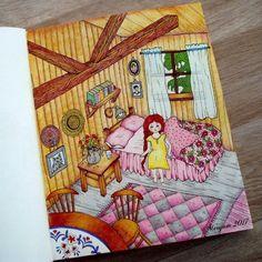 #vivisokerenvan #mariatrolle #coloringforadults #omalovanky #antistresoveomalovanky