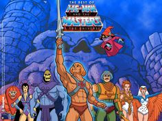 He-Man, Masters of the Universe!