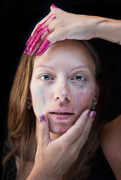 Portraits of Mothers Who've Been Given Makeovers by Their 3 to 5-Year-Old Daughters - Feature Shoot