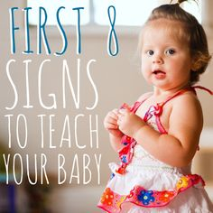 Daily Mom » First 8 Signs to Teach Your Baby