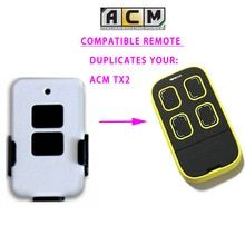 Acm Tx2 Remote Control Multi Frequency Auto Scan Rolling Code Universal Black Yellow China