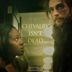 Chivalry isn't dead.
