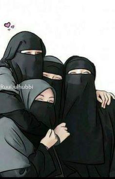 Read 2 from the story Hijabers fanart by RefinaAnnasah with reads. Best Friends Cartoon, Friend Cartoon, Cartoon Girl Images, Girl Cartoon, Moslem, Hijab Drawing, Best Friend Drawings, Islamic Cartoon, Islam Women