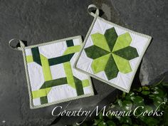St patricks day pot holder tutorials from country momma cooks