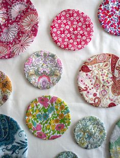 Mini Quilt: Circular Applique - the purl bee