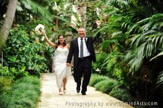 Very beautiful #portrait of the #bride and the #groom on their #wedding day by #DominoArts Photography (www.DominoArts.com)