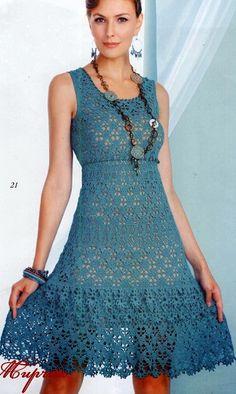 Vestidos crochet para mujer patrones precio