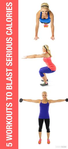 Burn LOADS of calories with these workouts!