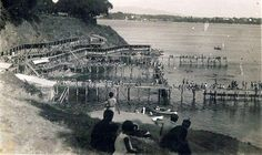 Eski İstanbul Fotoğrafları Arşivi — Moda Plajı