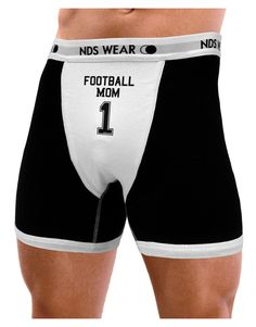 TooLoud Football Mom Jersey Mens NDS Wear Boxer Brief Underwear