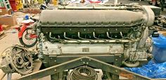 1940 Allison Engine Offered For Sale Harrahs Tahoe, Aircraft Parts, Race Engines, Military Vehicles, Planes, Engineering, Racing, Projects, Beautiful