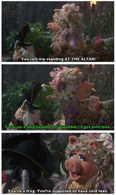 Muppet Treasure Island Miss Piggy Quotes