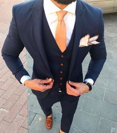 Wedding Suits men suits style -- Click Visit link for more info New Mens Suits, Best Suits For Men, Mens Fashion Suits, Cool Suits, Men's Suits, Best Wedding Suits For Men, Suit For Men, Blue Suits, Mens Suits Style