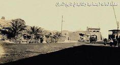 مدخل مدينة باب المعظم في بغداد عام 1919.