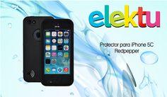 Proteje tu iPhone 5C contra golpes, agua y más con este protector Redpepper que te regala Elektu.  Participa aquí https://www.sorteandoyganando.com/sorteo-protector-contra-agua-para-iphone-5c-de-redpepper