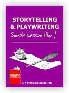 Three page storytelling lesson plan for younger students and one page storytelling lesson plan outline for older students. Drama Games For Kids, Teaching Theatre, Drama Teaching, Teaching Ideas, Lesson Plan Outline, Speech And Debate, Drama Class, Middle Schoolers, High School Students