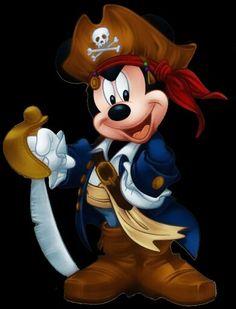 Pirate Mickey.