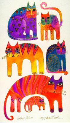 Image result for laurel burch cats