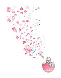 Petals - artwork by Mia Marie Overgaard. www.miaovergaard.com