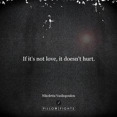 No pain quite like it | Pillowfights.co.uk #NikolettaVasilopoulou #MarkMyWords