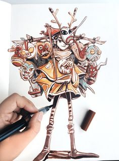 Rachel Ho is an artist and illustrator based in Malaysia.