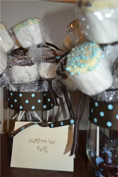 Hostess with the Mostess® - Baby Boy Blue/Brown Shower