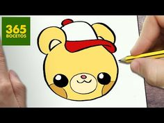 COMO DIBUJAR OSO KAWAII PASO A PASO - Dibujos kawaii faciles - How to draw a BEAR - YouTube