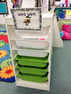 Daily 5 ideas. love this the storage/organize bins. You can find them at IKEA