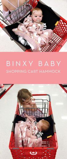 The Binxy Baby Shopping Cart Hammock