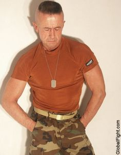 a military drill instructor fitness army uniform fetish