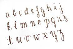 Fake Calligraphy Tutorial