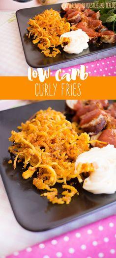 Schnelle und einfache low carb Curly Fries aus Petersilienwurzel MIT REZEPTVIDEO! www.lowcarbkoestlichkeiten.de
